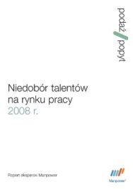 Niedobór talentów 2008