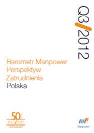 Barometr Manpower Perspektyw Zatrudnienia Q3 2012