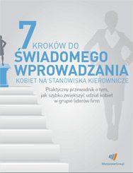 7 kroków do wprowadzania kobiet na stanowiska kierownicze