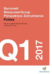 Barometr ManpowerGroup Perspektyw Zatrudnienia Q1 2017