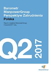Barometr ManpowerGroup Perspektyw Zatrudnienia Q2 2017