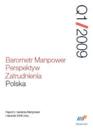 Barometr Manpower Perspektyw Zatrudnienia Q1 2009