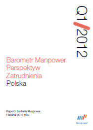 Barometr Manpower Perspektyw Zatrudnienia Q1 2012