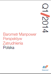 Barometr Manpower Perspektyw Zatrudnienia Q1 2014