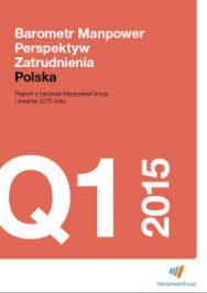 Barometr Manpower Perspektyw Zatrudnienia Q1 2015