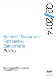 Barometr Manpower Perspektyw Zatrudnienia Q2 2014