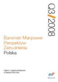 Barometr Manpower Perspektyw Zatrudnienia Q3 2008