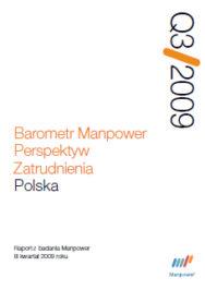 Barometr Manpower Perspektyw Zatrudnienia Q3 2009
