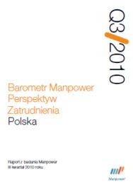 Barometr Manpower Perspektyw Zatrudnienia Q3 2010