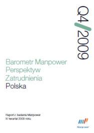 Barometr Manpower Perspektyw Zatrudnienia Q4 2009