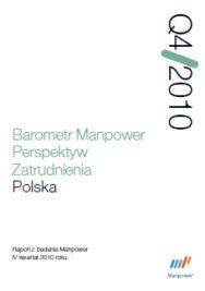 Barometr Manpower Perspektyw Zatrudnienia Q4 2010