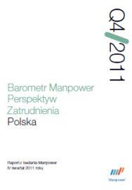 Barometr Manpower Perspektyw Zatrudnienia Q4 2011