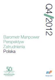 Barometr Manpower Perspektyw Zatrudnienia Q4 2012