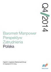 Barometr Manpower Perspektyw Zatrudnienia Q4 2014