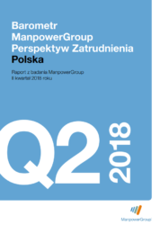 Barometr ManpowerGroup Perspektyw Zatrudnienia Q2 2018
