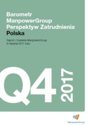 Barometr ManpowerGroup Perspektyw Zatrudnienia Q4 2017