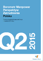 Barometr Manpower Perspektyw Zatrudnienia Q2 2015