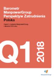 Barometr ManpowerGroup Perspektyw Zatrudnienia Q1 2018