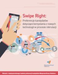 Swipe Right - preferencje kandydatów dotyczące korzystania z nowych technologii w procesie rekrutacji