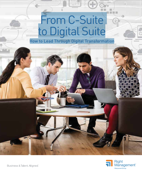 From C-Suite to Digital Suite. How to Lead Through Digital Transformation
