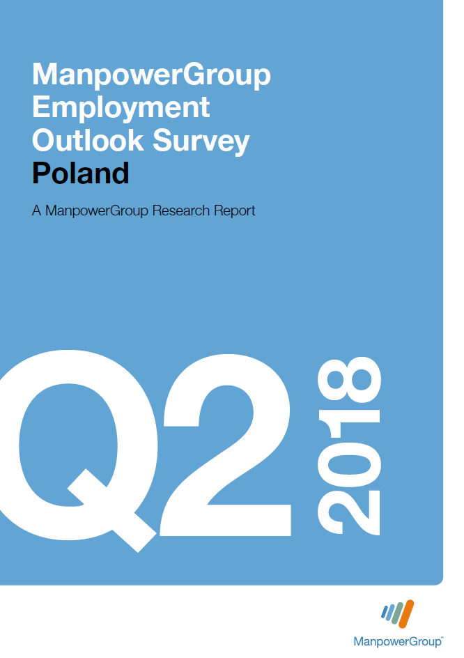 ManpowerGroup Employment Outlook Survey Q2 2018