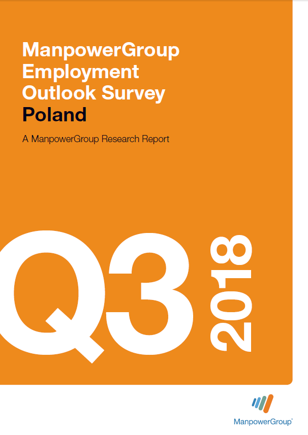 ManpowerGroup Employment Outlook Survey Q3 2018