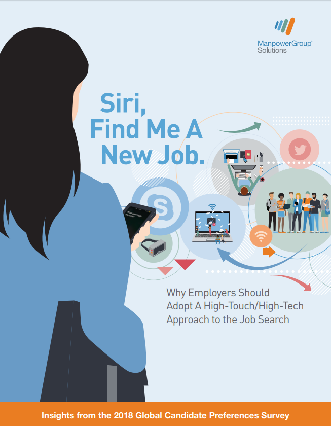 Siri, Find Me A New Job. Why Employers Should Adopt A High-Touch/High-Tech Approach to the Job Search?