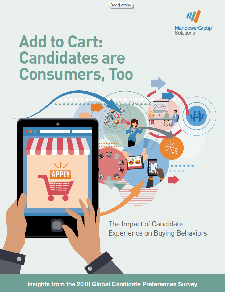 Add to cart candidates are consumers too. The Impact of Candidate Experience on Buying Behaviors.