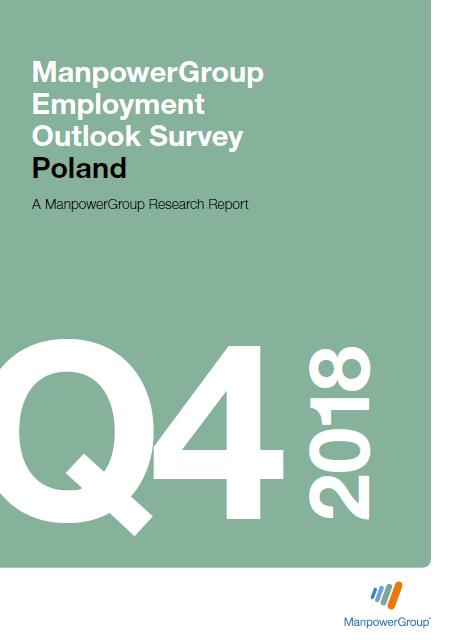 ManpowerGroup Employment Outlook Survey Q4 2018
