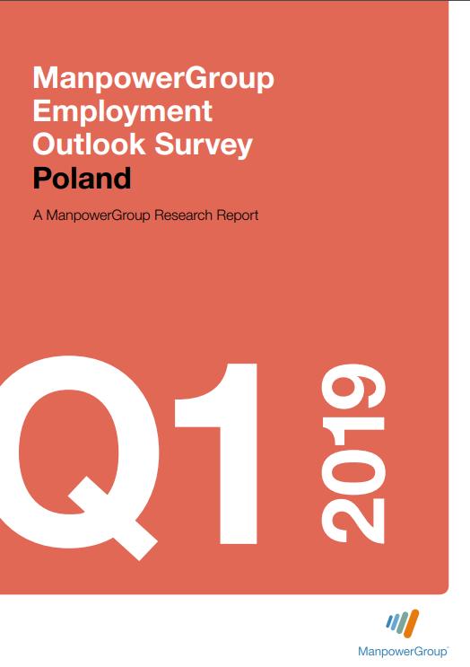 ManpowerGroup Employment Outlook Survey Q1 2019