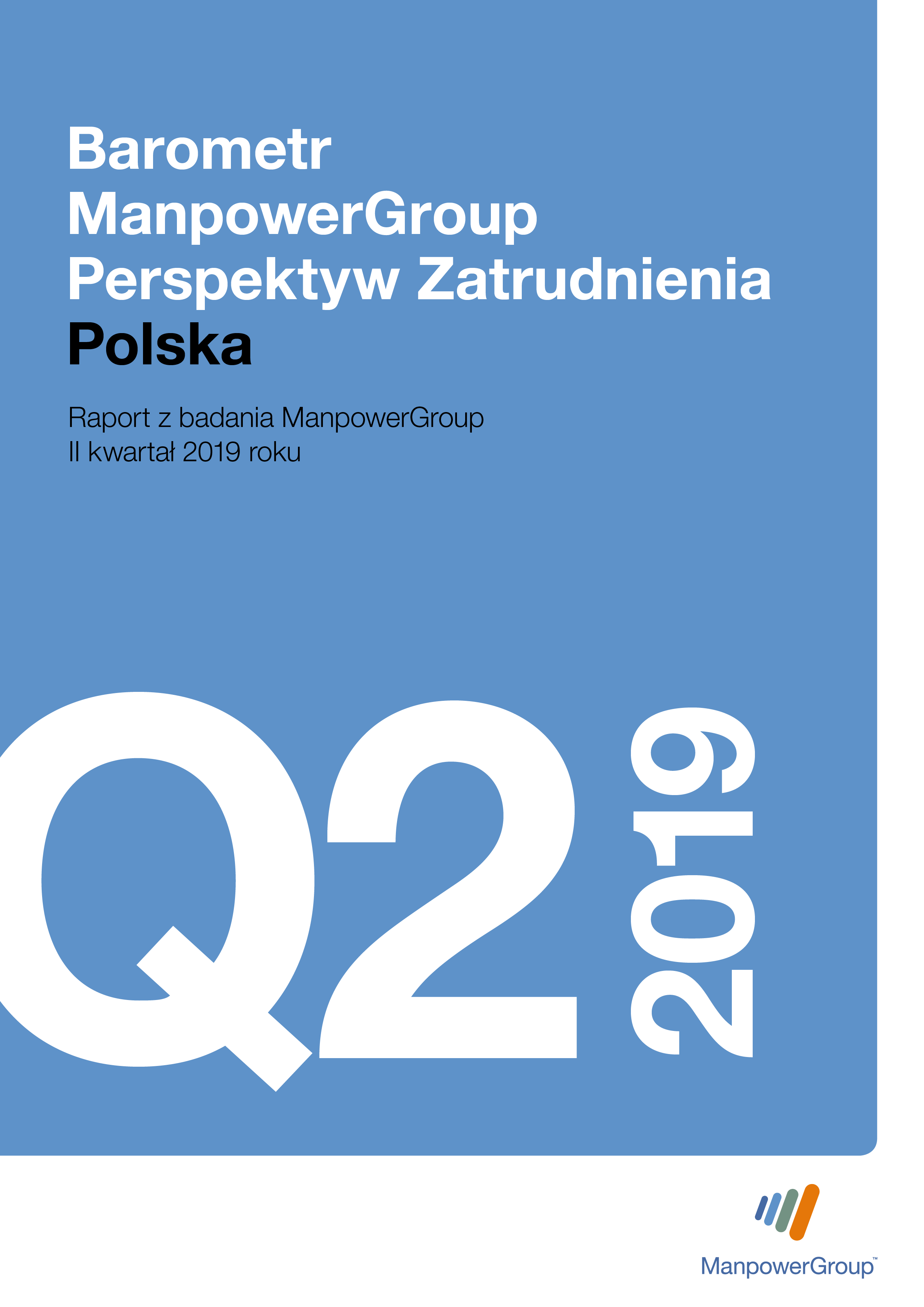 ManpowerGroup Employment Outlook Survey Q2 2019