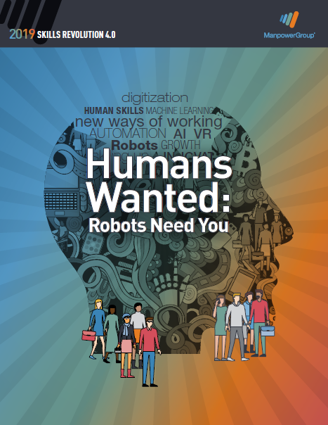 Skills Revolution 4.0 - Humans Wanted: Robots Need You