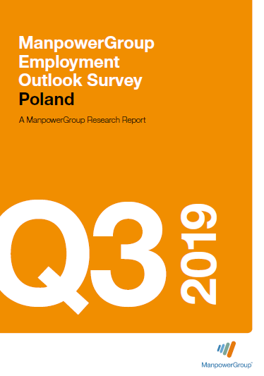 ManpowerGroup Employment Outlook Survey Q3 2019