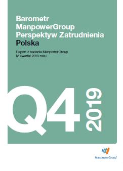 Barometr ManpowerGroup Perspektyw Zatrudnienia Q4 2019