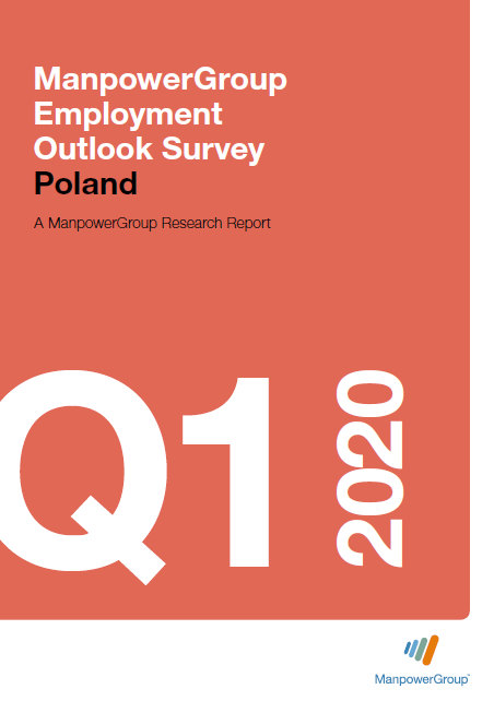 ManpowerGroup Employment Outlook Survey Q1 2020