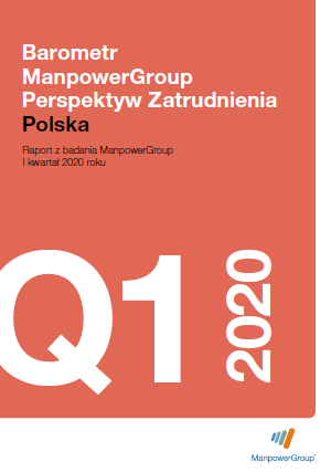 Barometr ManpowerGroup Perspektyw Zatrudnienia Q1 2020