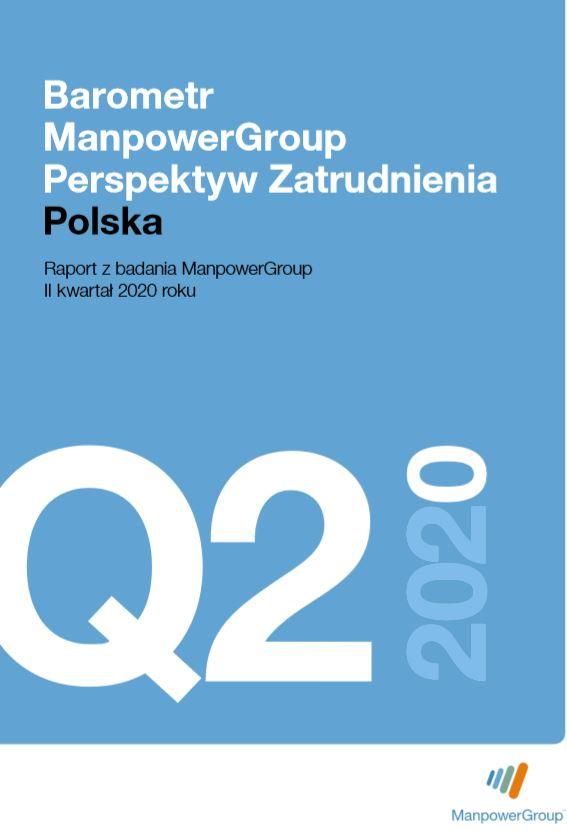 Barometr ManpowerGroup Perspektyw Zatrudnienia Q2 2020