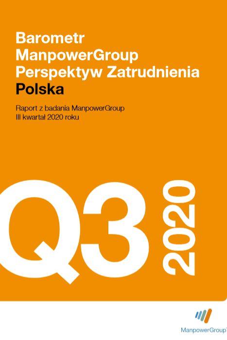 Barometr ManpowerGroup Perspektyw Zatrudnienia Q3 2020
