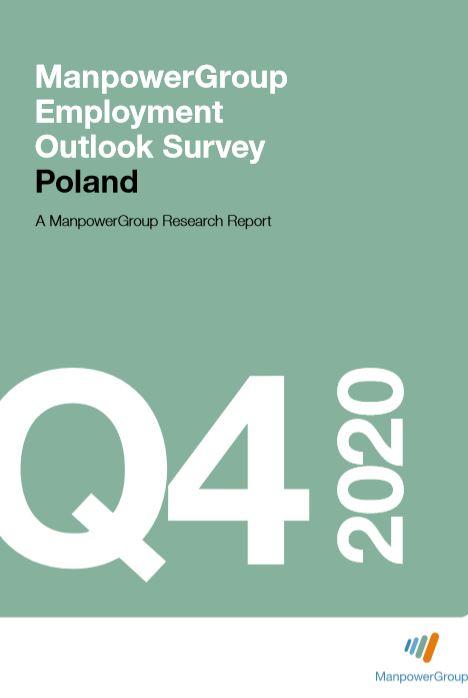 ManpowerGroup Employment Outlook Survey Q4 2020