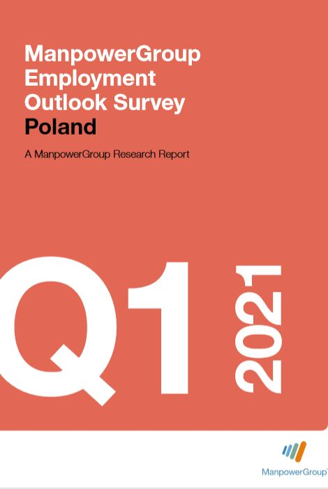 ManpowerGroup Employment Outlook Survey Q1 2021