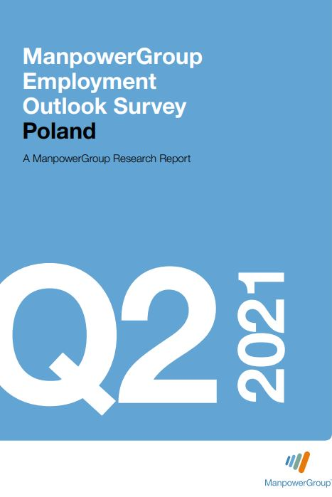 ManpowerGroup Employment Outlook Survey Q2 2021