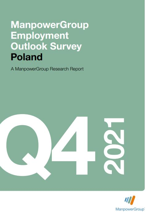 ManpowerGroup Employment Outlook Survey Q4 2021