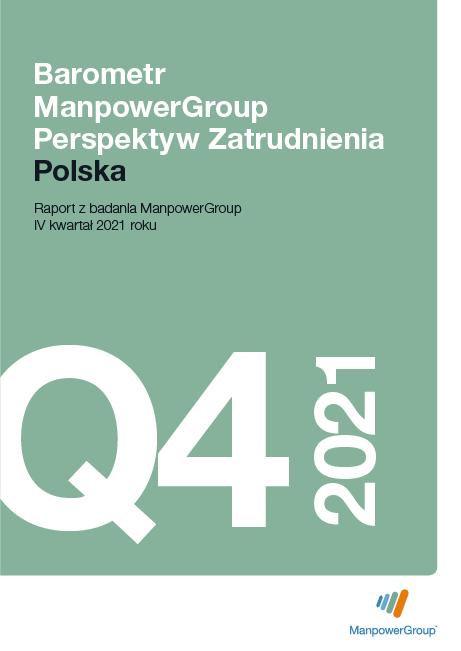 Barometr ManpowerGroup Perspektyw Zatrudnienia Q4 2021